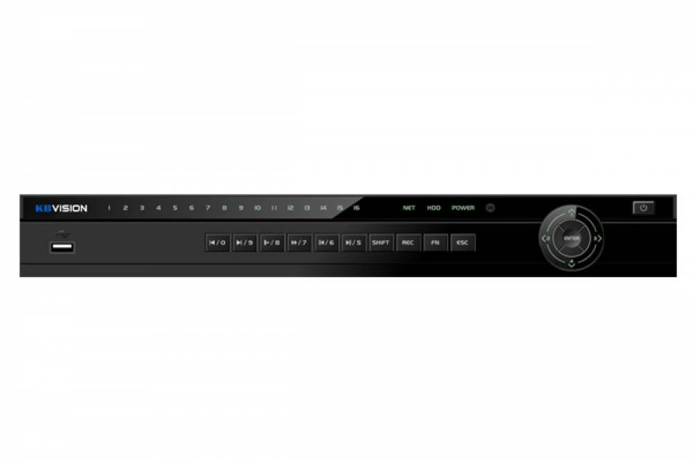 Đầu ghi hình KBVISION KX-2K8216H1 16 kênh HD 8M + 8 kênh IP
